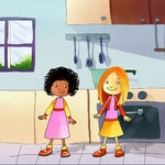 "Image for the Animation programme ""Milly Molly"""