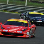 "Image for the Motoring programme ""Ferrari Challenge Europa"""