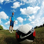 "Image for the Sport programme ""Football Freestyler"""