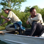 "Image for the Nature programme ""Swimming with Monsters with Steve Backshall"""