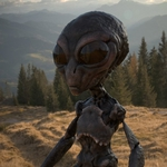 "Image for the Documentary programme ""Alien Mysteries"""