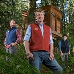 "Image for the Documentary programme ""Treehouse Masters"""