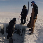 "Image for the Documentary programme ""Gold Divers: Under the Ice"""