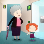 "Image for the Childrens programme ""Nina Needs to Go"""
