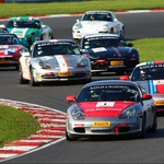 "Image for the Motoring programme ""Porsche Club GB Championship"""