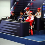 "Image for the Motoring programme ""Press Conference"""