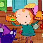 "Image for the Childrens programme ""Peg and Cat"""