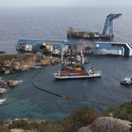 "Image for the Documentary programme ""The Raising of the Costa Concordia"""