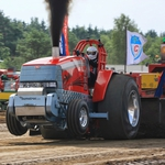 "Image for the Motoring programme ""Eurocup Tractor Pulling - Brande"""