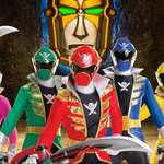 "Image for the Animation programme ""Power Rangers Super Megaforce"""