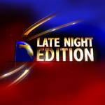 "Image for the News programme ""Late Night Edition"""