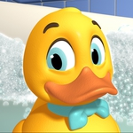 "Image for the Childrens programme ""Lucky Duck"""