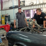 "Image for the Motoring programme ""Misfit Garage"""