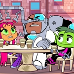 "Image for the Childrens programme ""Teen Titans Go"""