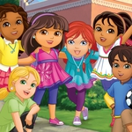 "Image for the Childrens programme ""Dora and Friends: Into the City"""