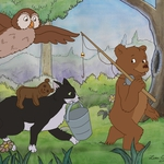 "Image for the Childrens programme ""Little Bear"""