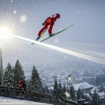 "Image for the Sport programme ""Nordic Combined Skiing"""