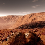 "Image for the Scientific Documentary programme ""Life on Mars"""