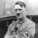 "Image for the History Documentary programme ""Hunt for Hitler"""
