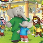 "Image for the Childrens programme ""Babar and Badou"""