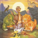 "Image for the Film programme ""The Land before Time II: The Great Valley Adventure"""