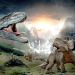 "Image for the Film programme ""Walking with Dinosaurs"""