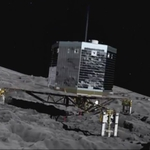"Image for the Scientific Documentary programme ""Landing on a Comet"""