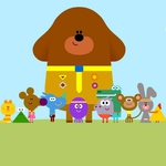 "Image for the Childrens programme ""Hey Duggee"""