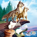 "Image for the Film programme ""Balto II: Wolf Quest"""