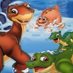 "Image for the Film programme ""The Land Before Time VIII: The Big Freeze"""