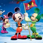 "Image for the Childrens programme ""Mickey Mouse Clubhouse Space Adventure"""