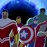 "Image for the Childrens programme ""Marvel's Avengers Assemble"""