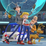 "Image for the Animation programme ""Inspector Gadget"""