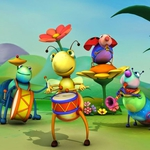 "Image for the Childrens programme ""Big Bugs Band"""