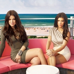 "Image for the Reality Show programme ""Kourtney and Khloe Take the Hamptons"""