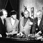 "Image for the Film programme ""The Three Stooges in Orbit"""