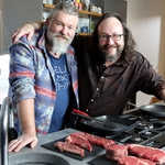 "Image for the Cookery programme ""The Hairy Bikers and Lorraine Pascale"""