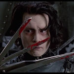 "Image for the Film programme ""Edward Scissorhands"""
