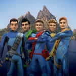 "Image for the Animation programme ""Thunderbirds are Go"""