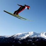 "Image for the Sport programme ""Ski Jumping Replay"""