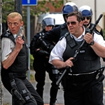 "Image for the Film programme ""Hot Fuzz"""