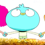 "Image for the Childrens programme ""Harvey Beaks"""