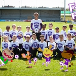 "Image for the Childrens programme ""Footy Pups"""