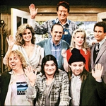 "Image for the Sitcom programme ""Newhart"""