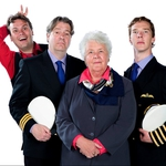 "Image for the Sitcom programme ""Cabin Pressure"""