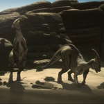 "Image for the Documentary programme ""Last Days of the Dinosaur"""