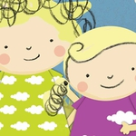 "Image for the Childrens programme ""Nelly and Nora"""