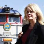 "Image for the Documentary programme ""Joanna Lumley's Trans-Siberian Adventure"""