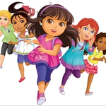 "Image for the Childrens programme ""Dora and Friends Singalong"""