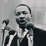 "Image for the Documentary programme ""Martin Luther King"""